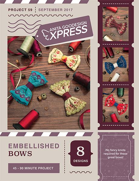Anita's Express - Embellished Bows