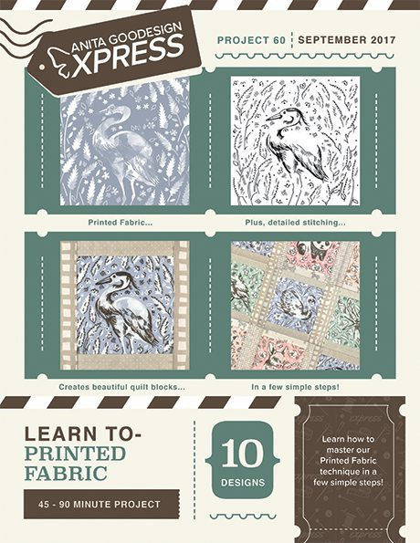 Anita's Express - Learn to - Printed Fabric