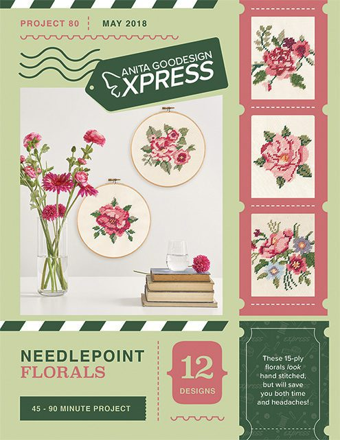 Anita's Express - Needlepoint Florals