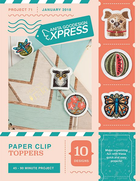 Anita's Express - Paper Clip Toppers