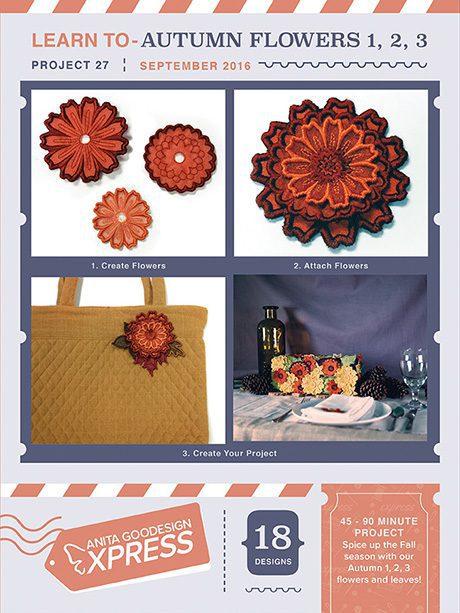 CD-Autumn Flowers