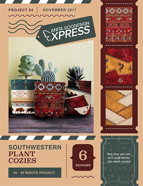 Anita's Express - Southwestern Plant Cozies
