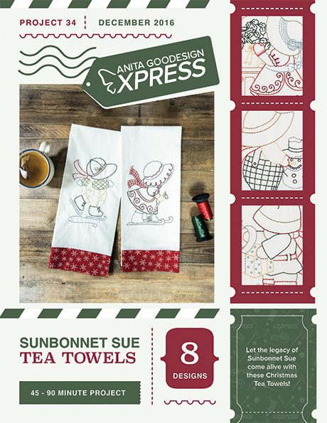 Sunbonnet Sue Tea Towels