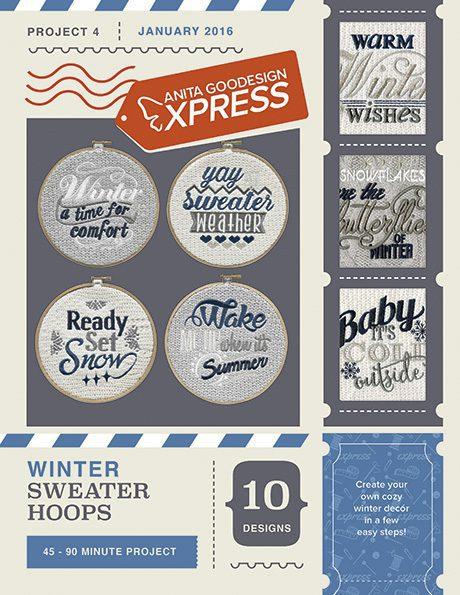Winter Sweater Hoops