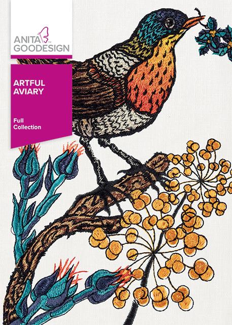 Anita Goodesign Embroidery Designs Artful Aviary