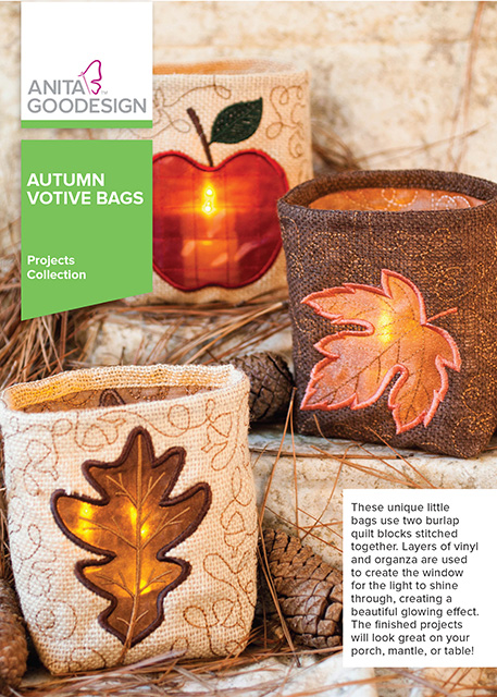 Autumn Votive Bags