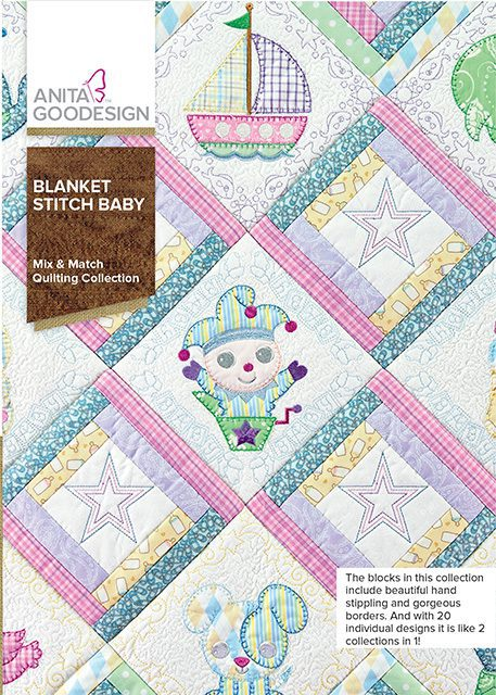 CD AG BLANKET STITCH BABIES