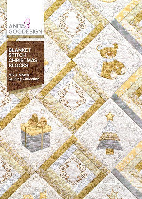 Anita Goodesign Blanket Stitch Christmas Blocks