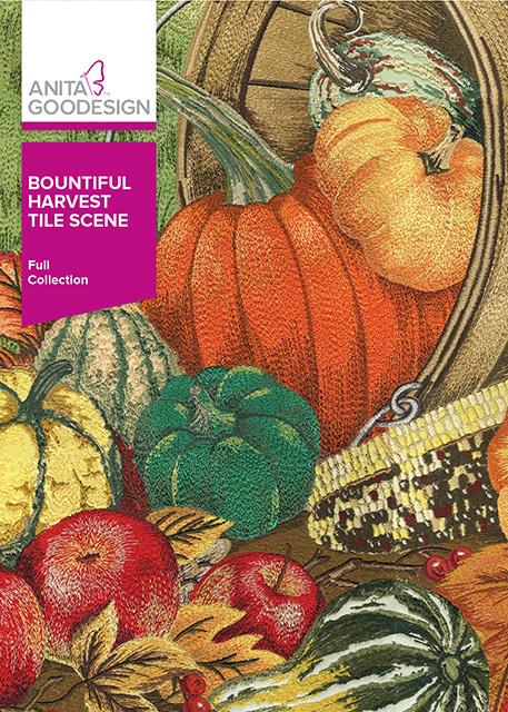 Bountiful Harvest Tile Scene