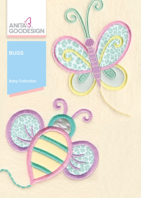 Baby Bugs Machine Embroidery CD