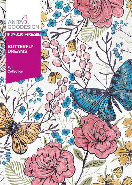 Anita Goodesign Embroidery Designs Butterfly Dreams