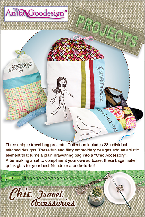 Anita Goodesign Embroidery Designs Chic Travel Accessories