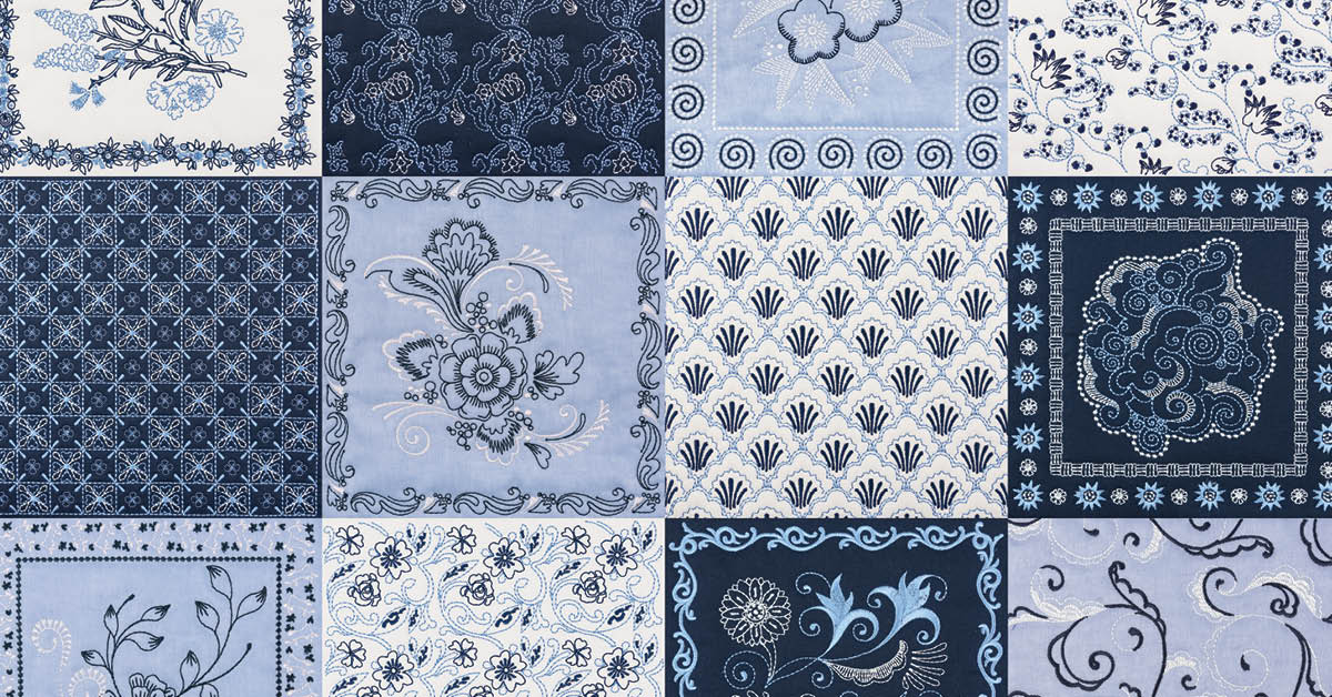 China Blue Quilt