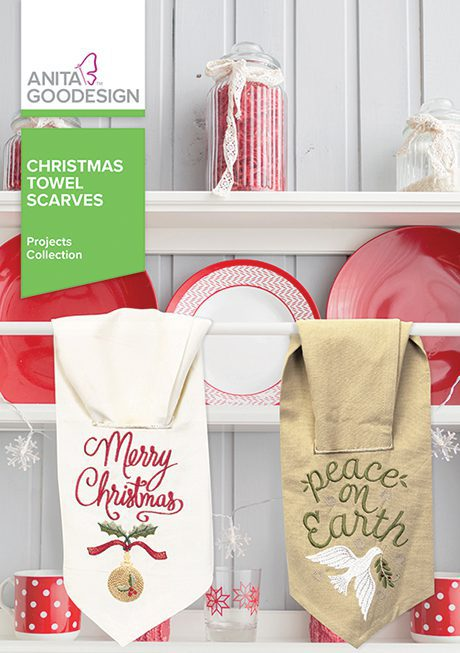 Christmas Towel Scarves