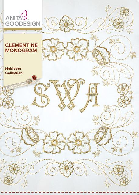 Anita Goodesign Clementine Monogram