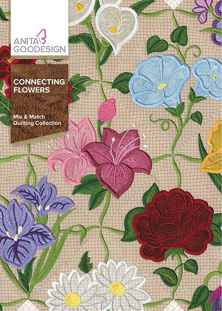 Anita Goodesign Connecting Flowers