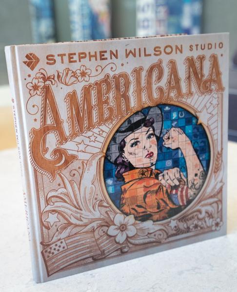 Stephen Wilson Studio Americana Book