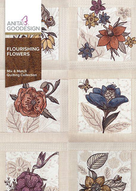 CD-Flourishing Flowers