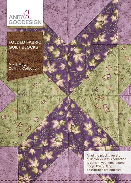 Folded Fabric Quilt Blocks