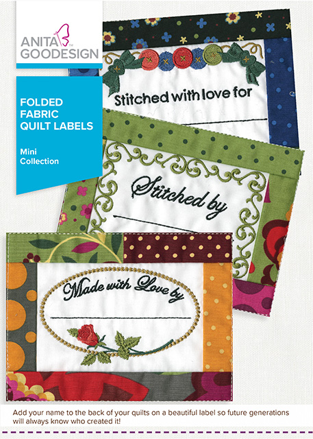 AG - Folded Fabric Quilt Labels