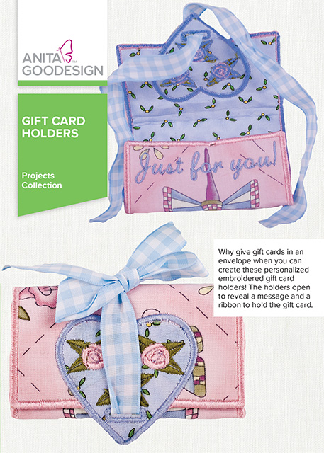 Anita Goodesign Gift Card Holders