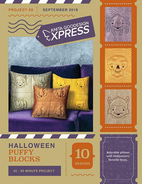 Anita's Express - Halloween Puffy Blocks
