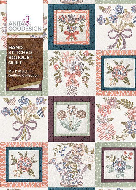 Hand Stitched Bouquet Quilt