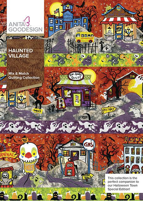 Haunted Village Machine Embroidery CD