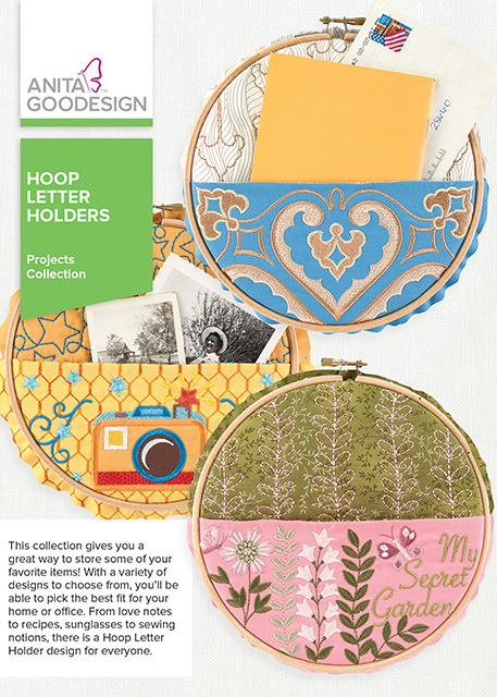 Hoop Letter Holders - Projects Collection