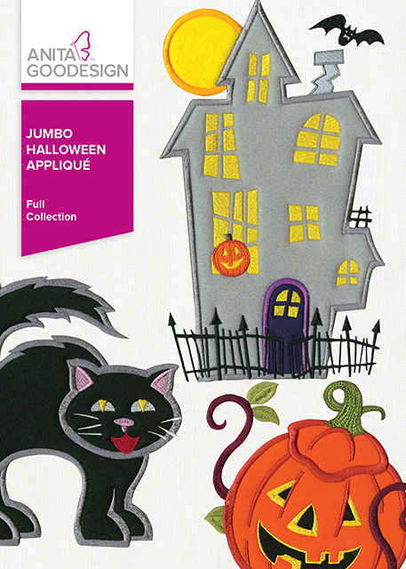 AGD Jumbo Halloween Applique