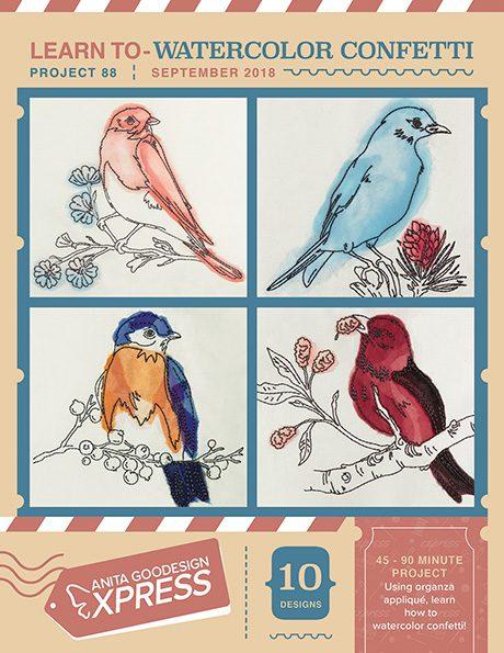 Anita's Express - Learn to Watercolor Confetti