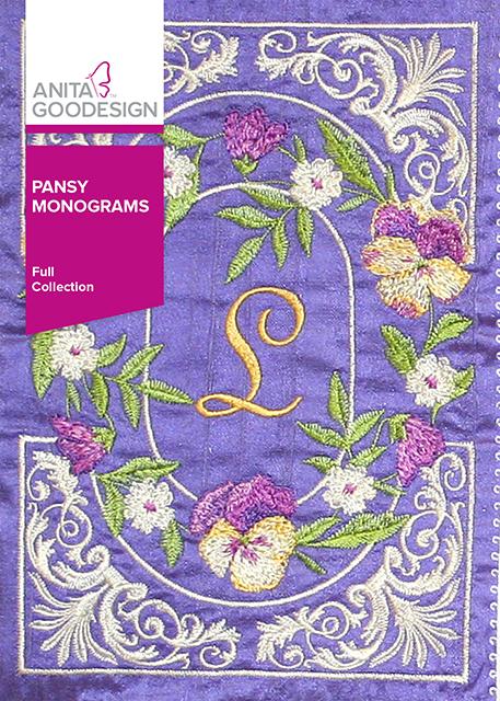 Pansy Monogram