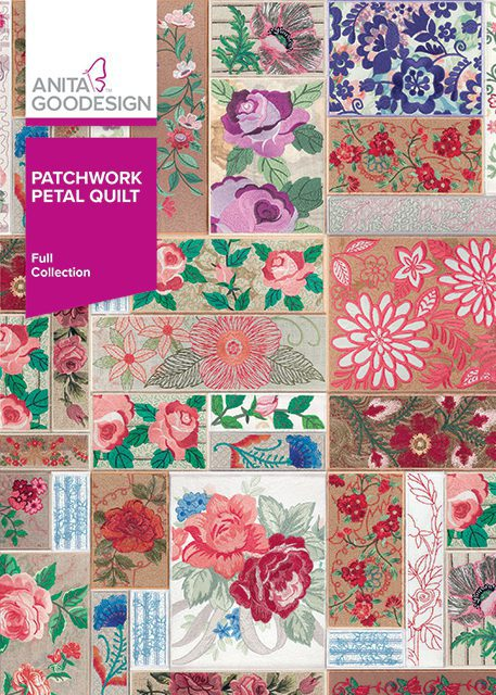 Patchwork Petal Quilt - Full Collection