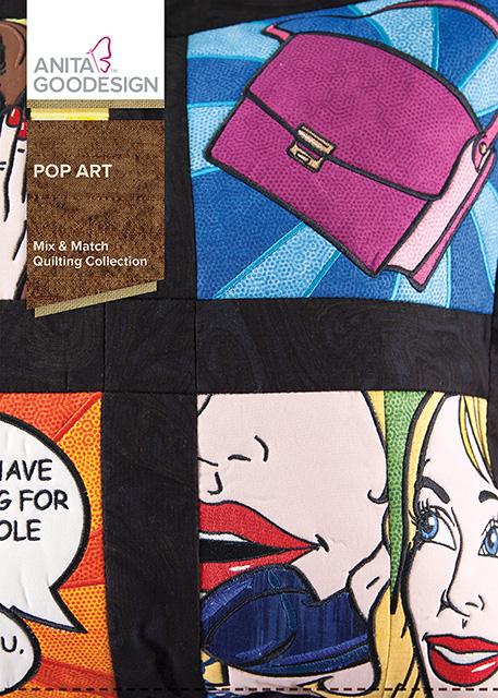 Anita Goodesign Embroidery Designs Pop Art