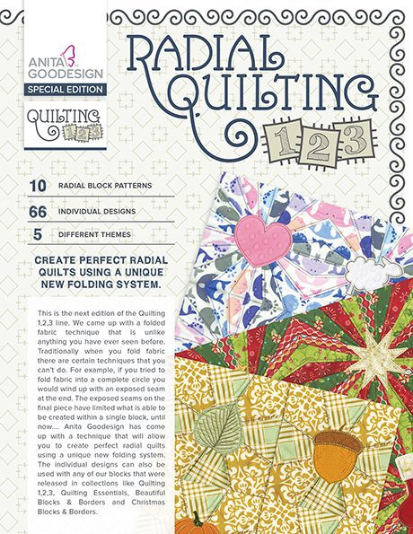 Radial Quilting 1,2,3