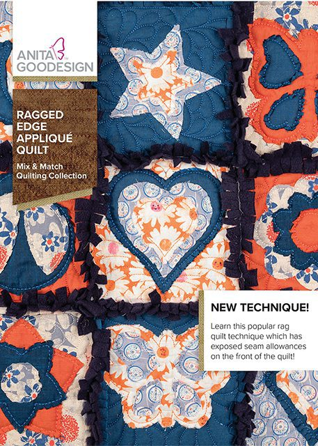 Ragged Edge Applique Quilt