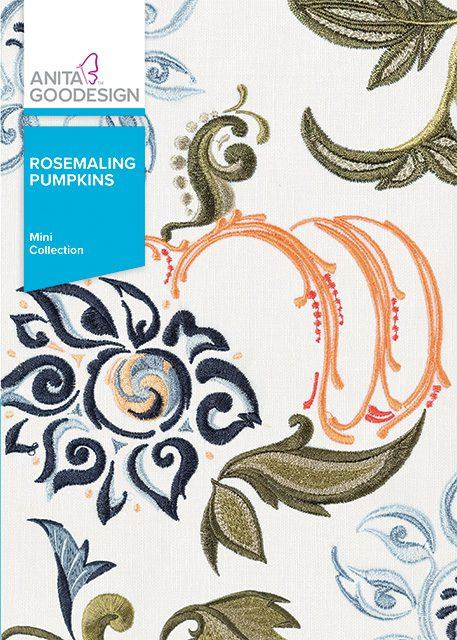 AG - Rosemaling Pumpkins