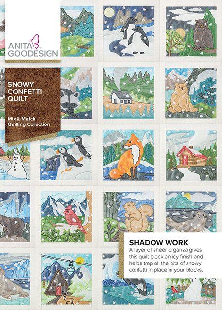 CD- Snowy Confetti Quilt