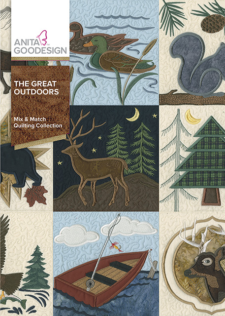 The Great Outdoors Anita Goodesign Embroidery CD