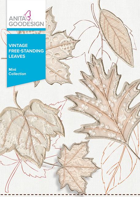 Vintage Free-Standing Leaves