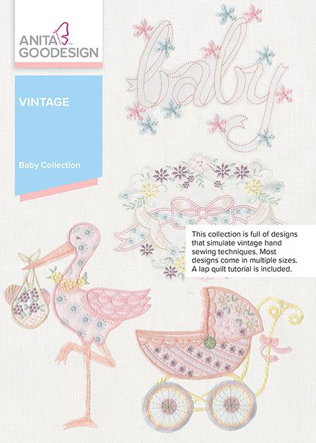 Anita Goodesign Baby Vintage