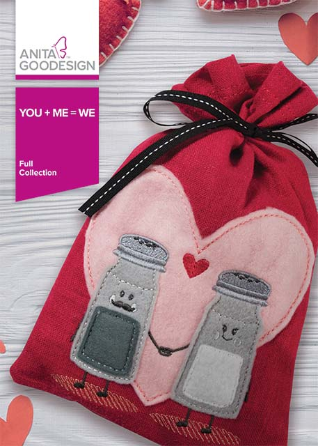 You + Me = We Machine Embroidery CD