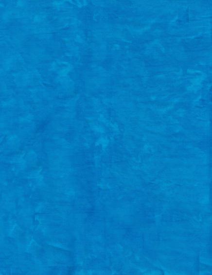 Basic Batik Solid - Bright Blue by Anthology