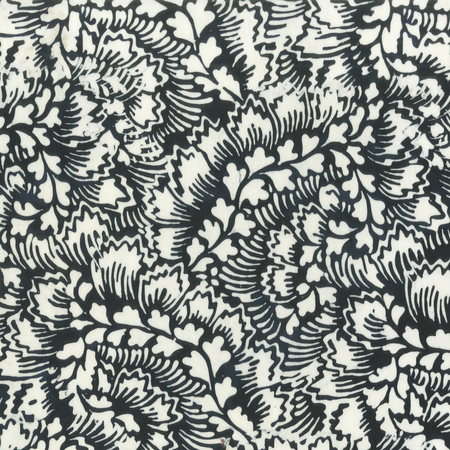 Batik- Cotton Print- Art Inspirations- Feathered- Ink STH#11229240