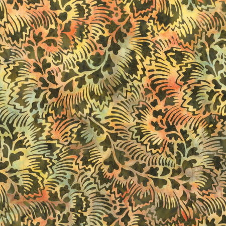 Batik- Cotton Print- Art Inspirations - Chamele- Feathered- STH#11229395