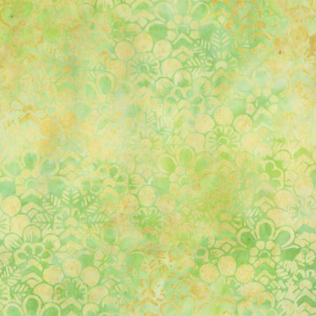 Art Inspired: Flower Abstraction 202Q-10 Green