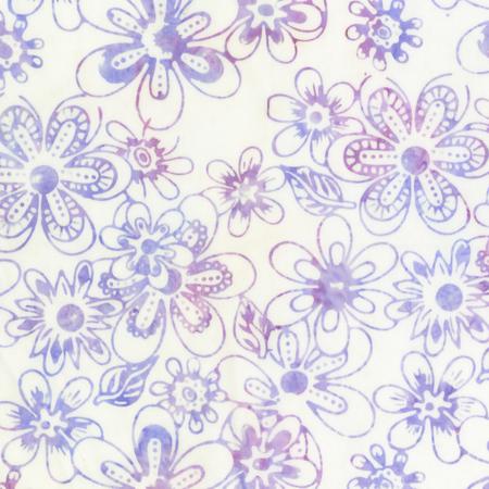 Anthology Purple on White