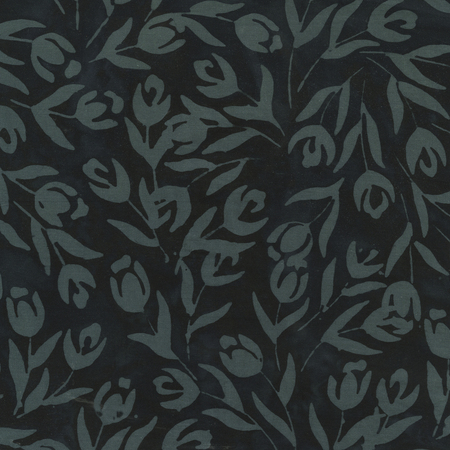 Quiltessentials: Botanicals 401Q-7 Black