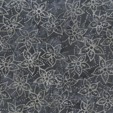 Anthology Batik Botanicals Pewter 405Q-6