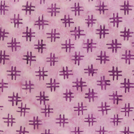 Anthology Quiltessentials Hash Tags Purple
